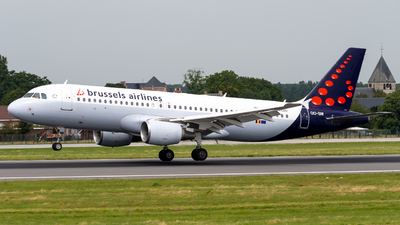 A picture of OOSNI - Airbus A320214 - Brussels Airlines - © Alexandre Raineau