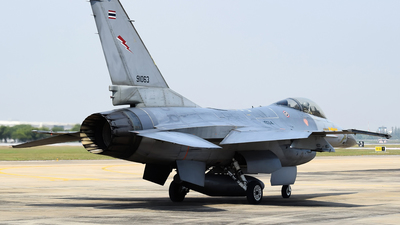 KH19-14/37 - General Dynamics F-16A Fighting Falcon - Thailand - Royal Thai Air Force