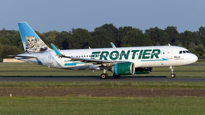 N381FR - Airbus A320-251N - Frontier Airlines