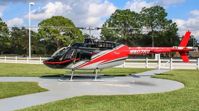 N407RV - Bell 206B JetRanger III - Orlando Helitours
