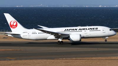 JA837J - Boeing 787-8 Dreamliner - Japan Airlines (JAL)