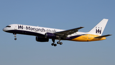 G-DAJB - Boeing 757-2T7 - Monarch Airlines