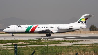 CS-TPC - Fokker 100 - PGA Portugália Airlines