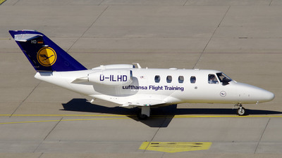D-ILHD - Cessna 525 CitationJet 1 Plus - Lufthansa Flight Training