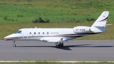 VT-KZN - Gulfstream G150 - Private