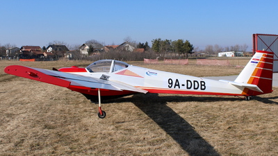 9A-DDB - Scheibe SF.25C Falke - Private