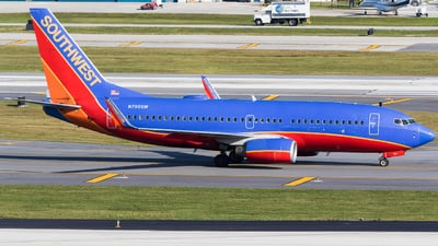 A picture of N790SW - Boeing 7377H4 - Southwest Airlines - © Martin Rogosz