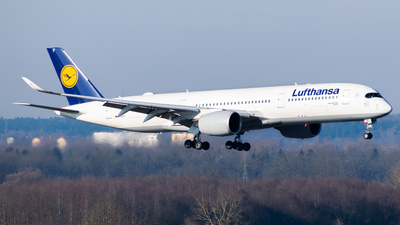 D-AIXF - Airbus A350-941 - Lufthansa