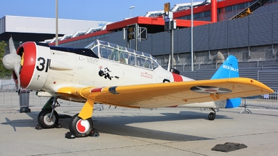 HB-RCN - North American T-6G Texan - Private