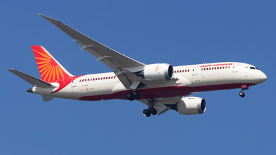 A picture of VTNAC - Boeing 7878 Dreamliner - Air India - © Janam Parikh