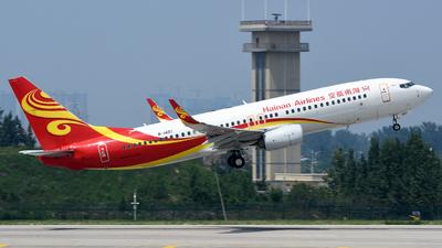 B-1497 - Boeing 737-84P - Hainan Airlines