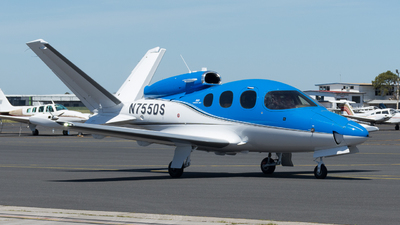 N755DS - Cirrus Vision SF50 G2 - Cirrus Design Corporation