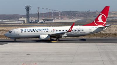 A picture of TCJVG - Boeing 7378F2 - Turkish Airlines - © Mustafa Sandikci