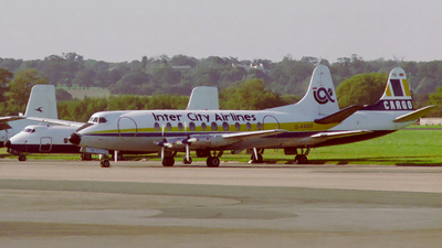 G-ARGR - Vickers Viscount 708 - Inter City Airlines