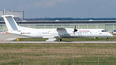 A picture of DABQN - De Havilland Canada Dash 8400 - [4124] - © marfi80