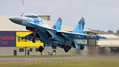 75 - Sukhoi Su-27UB Flanker C - Ukraine - Air Force