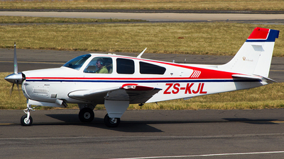 ZS-KJL - Beechcraft F33A Bonanza - Private