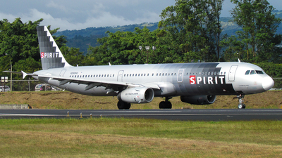 N588NK - Airbus A321-231 - Spirit Airlines