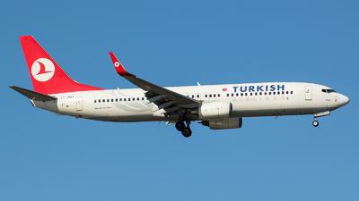 TC-JGJ - Boeing 737-8F2 - Turkish Airlines
