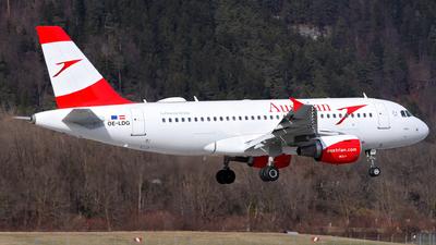 A picture of OELDG - Airbus A319112 - Austrian Airlines - © Lorenz Kafenda