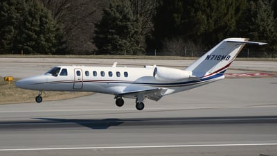 N716MB - Cessna 525 Citationjet CJ3 - Private