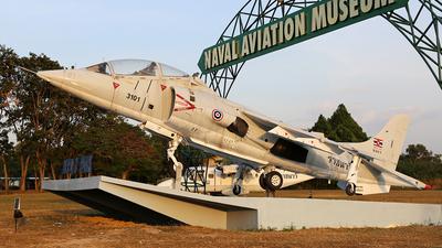 3101 - McDonnell Douglas AV-8C Harrier - Thailand - Royal Thai Navy