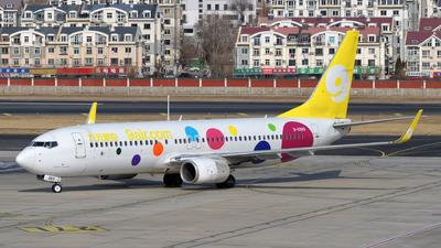 A picture of B6989 - Boeing 73786N - 9 Air - © sunshy0621
