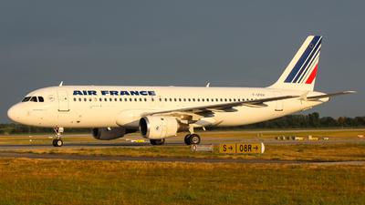 F-GFKH - Airbus A320-211 - Air France