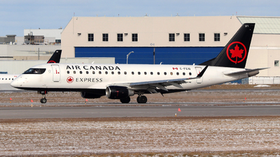 A picture of CFEIQ - Embraer E175SU - Air Canada - © Guy Langlois