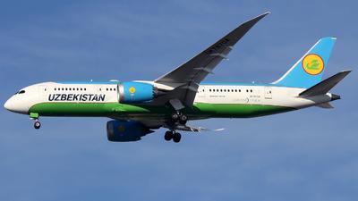 A picture of UK78704 - Boeing 7878 Dreamliner - Uzbekistan Airways - © Xiamen Air 849 Heavy