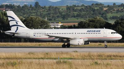 SX-DGE - Airbus A320-232 - Aegean Airlines