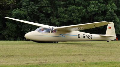 D-5481 - Schleicher Ka-2b Rhonschwalbe - Private