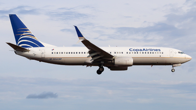 A picture of HP1856CMP - Boeing 7378V3 - Copa Airlines - © Alexis Navarro