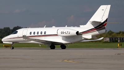 A picture of CSLTJ - Cessna 680A Citation Latitude - NetJets Europe - © Łukasz Stawiarz