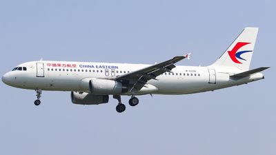 A picture of B6376 - Airbus A320232 - China Eastern Airlines - © AGUIJUN-Lei