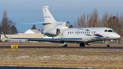D-AGBG - Dassault Falcon 7X - VW Air Services