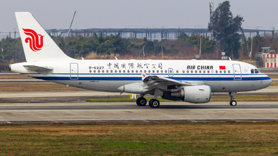 A picture of B6227 - Airbus A319115 - Air China - © SINO6702