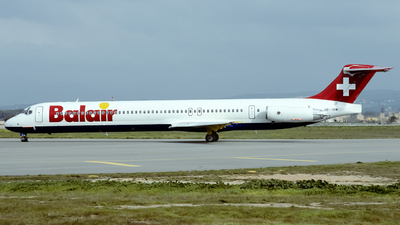HB-INW - McDonnell Douglas MD-82 - Balair