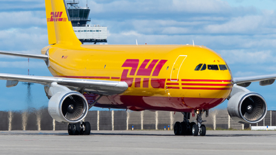 A picture of DAEAR - Airbus A300B4622R(F) - DHL - © Antek Dec