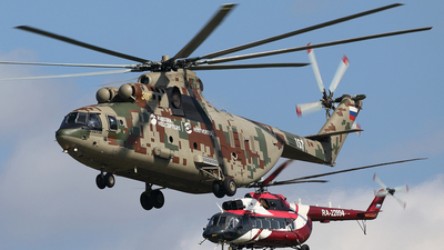 157 - Mil Mi-26T2 Halo - Mil Design Bureau (Moscow Helicopter Plant)