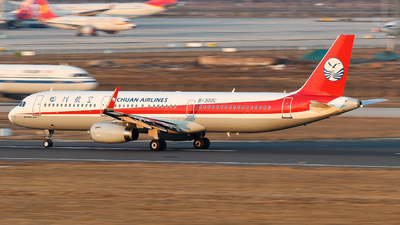 A picture of B300C - Airbus A321231 - Sichuan Airlines - © JetblastAviation