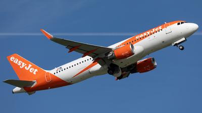 OE-IZG - Airbus A320-214 - easyJet Europe