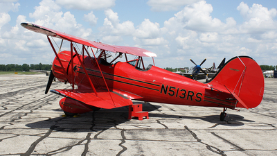 N513RS - Waco YMF-5FC - Private