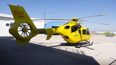 A picture of ECLAL - Deutchland Eurocopter EC135P2+ - [0761] - © Enrique Rubira