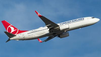 TC-JZN - Boeing 737-8JP - Turkish Airlines