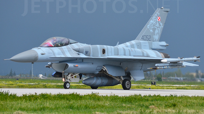 4060 - Lockheed Martin F-16CJ Fighting Falcon - Poland - Air Force