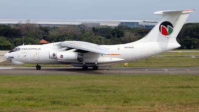 UR-BXQ - Ilyushin IL-76TD - Maximus Air Cargo