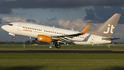 OY-JTY - Boeing 737-7Q8 - Jettime