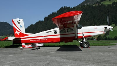 V-622 - Pilatus PC-6/B2-H2 Turbo Porter - Switzerland - Air Force