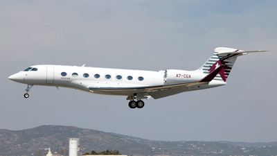 A7-CGA - Gulfstream G650ER - Qatar Executive